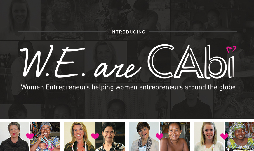 Opportunity, Paid Forward: W.E. are cabi