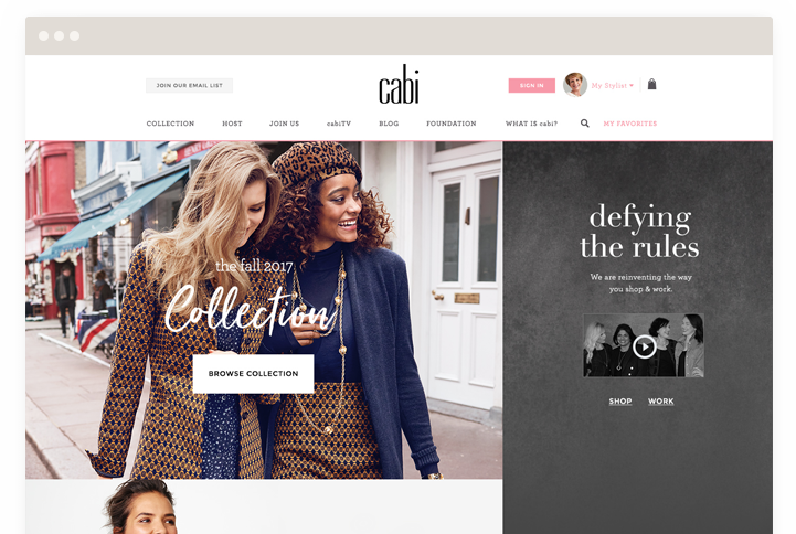 cabi hosts your very own website