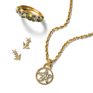 Jewelry pieces that stand alone, but are even better as a set…we'll call it 'The Rising Star'!