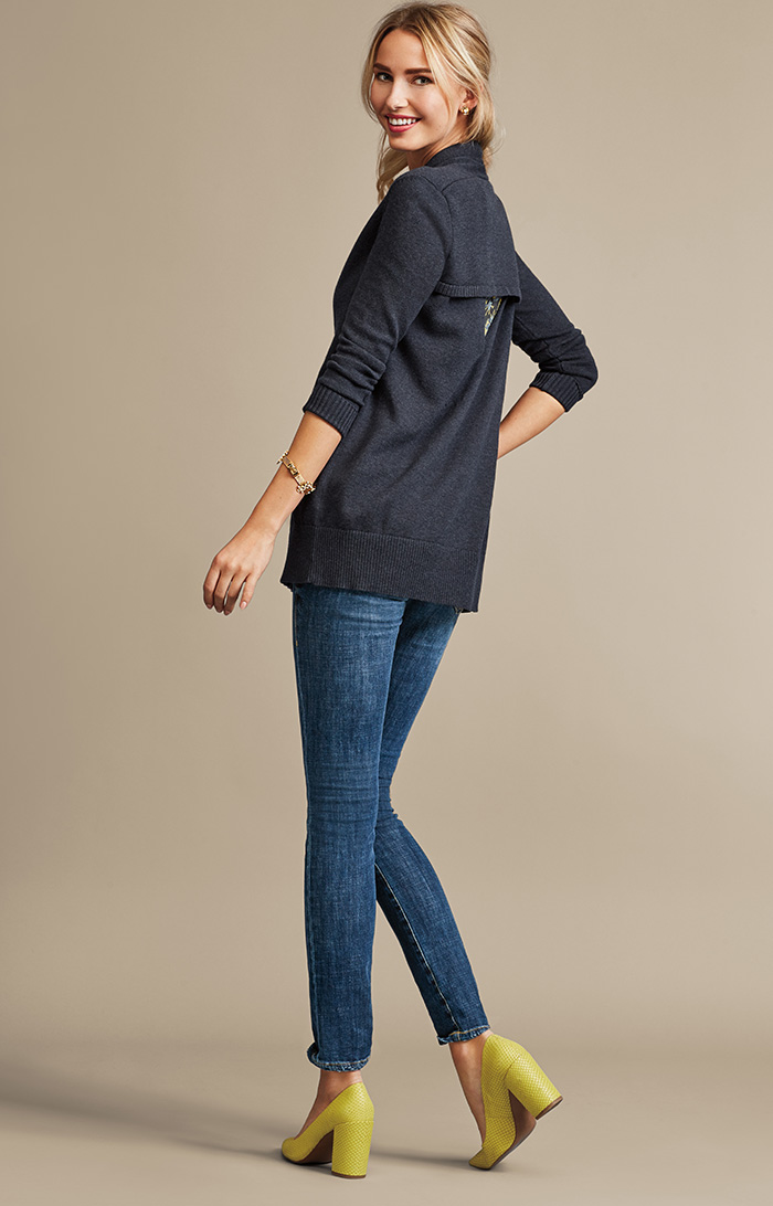 Victoria Sweater, Fern Blouse and Dover Skinny Jeans - cabi Fall Clothing Collection